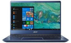 "NB Acer Swift 3 SF314-52-311U/14.0"" IPS Full HD 1920x1080 Corning® Gorilla® Glas /Intel® Core™ i3-7130U/1x4GB/256GB PCI-E SSD/ Intel HD Graphics 620/ Keyboard backlight/Finger Print/Windows 10/Мetallic body (Anodizing) Stellar Blue"