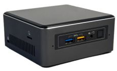 "Intel NUC 7th Gen Core i7-7567U DC 3.50/4.0GHz, 2xDDR4 (max 32GB), 2.5"" HDD/SSD + NVMe/SATA M.2 SSD, Intel 4K HD Graphics 650 (1x DP via USB-C + 1x 4K HDMI), 7.1 Audio, (2+2)xUSB 3.0, 1xLAN GbE, IR frontpanel, WiFi AC + BT 4.2, VESA"