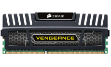 Памет Corsair DDR3, 1600MHz 4GB (1 x 4GB) 240 Dimm, Unbuffered, 9-9-9-24, Vengeance Heatspreader, Core i7, Core i5 and Core 2/AMD Phenom II - Dual Channel, 1.5V