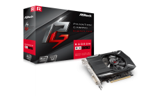 ASROCK Video Card AMD PHANTOM GAMING RADEON RX 560 4G GDDR5 128bit HDMI /Dual DVI-D / 1 x DP Retail