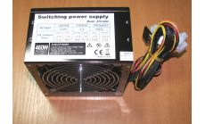 ATX-S500 [ ATX-S500 Power Supply GOLDENFIELD AC 115/230V, 47/63Hz, DC 3.3/5/ТБ12V, 500W, Retail, SLI Ready, SATA conector, power cable incl., 1x120, Efficiency 85%