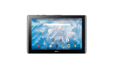 "Tablet Acer Iconia B3-A40-K5KE WiFi/10.1"" IPS (HD 1280 x 800) MTK MT8167 Quad-Core Cortex A35 1.3 GHz/1x2GB/16GB eMMC, Cam (2MP front, rear 5 MP 1080p FHD)/G-sensor, Micro USB, microSD™, Android™ 7.0 (Nougat), Black (rear cover) /Black (front)"