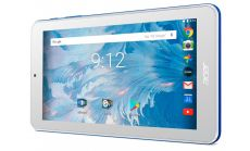 """Tablet Acer Iconia B1-7A0-K53J ANDROIDIEUBE 7.0"""" WSVGA 2Cww_316T 8167/1*1G/16G/1 cell battery/R/H7WS_bgn_0.3G2.0M_EB_N1O1, Blue (rear cover)/White (front)"""