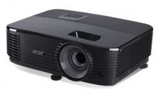 Projector Acer X1323WH DLP® 3D ready, Resolution: WXGA(1280x800), Format: 16:10, Contrast: 20 000:1, Brightness: 3 700 lumens, Input: 1xHDMI®, Analog VGA IN RGB/Component Video (D-sub)x1; USB Ctrl (Mini-B)x1, RS232 (D-sub)x1, Composite Video (RCA)x1,
