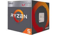 Процесор AMD RYZEN 5 2400G 4-Core 3.6 GHz (3.9 GHz Turbo) 6MB/65W/AM4/BOX