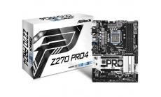 Дънна платка ASROCK Z270 PRO 4, Socket 1151, ATX, 4xDDR4, HDMI