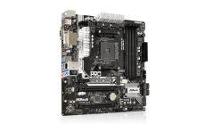 ASROCK Main Board Desktop AM4 A320 (SAM4,4xDDR4,2xPCI 3.0x16,2xPCI E 2.0x16, 1xPCI Ex1, SATA III,M2,USB3.0,VGA,DVD,HDMI,GLAN) mATX Retail