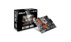 ASROCK Main Board Desktop iH110 (s1151,DDR4, 1xPCIe 3.0 x 16,1xPCIe x1,DVI-D, HDMI, 7.1 Ch, 4xSATA 3, USB 3.0) mATX