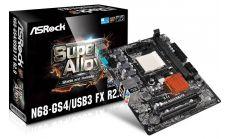 ASROCK Main Board Desktop nForce 630a (SAM3+AM3,DDR3,VGA, SATA II,VGA,PCI_Ex16, PCI_Ex1, 1xPCI ,USB3.0,GLAN,COM) mATX Retail