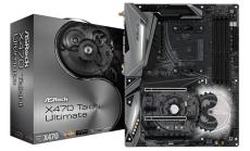 ASROCK Main Board Desktop AM4 X470 (SAM4,4xDDR4,3xPCI 3.0x16, 2xPCI Ex1,SATA III,1xM.2,1xUlraM.2,USB3.0,USB3.1,GLAN, HDMI, SPDIF) ATX Retail