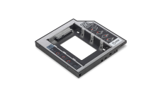"DIGITUS DA-71109 :: Монтажен адаптор за 2.5"" SSD/HDD към CD/ DVD/ Blu-ray на лаптоп, до 12.7 мм"