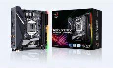 Дънна платка ASUS ROG STRIX H370-I GAMING Wi-Fi, Socket 1151 (300 Series), Aura Sync, mITX, Dual Lan