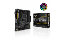 Дънна платка ASUS TUF B450M-Plus Gaming socket AM4, 4xDDR4, Aura Sync
