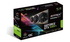 Видео карта ASUS GeForce GTX 1080 Ti ROG STRIX OC edition 11GB GDDR5X 352-bit, DVI-D, DisplayPort,HDMI,STRIX-GTX1080TI-O11G-GAMING