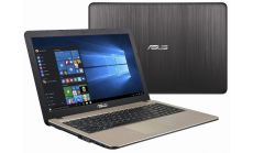 "Asus X541NA-GO020, Intel Dual-Core Celeron N3350 (up to 2.4 GHz, 2MB), 15.6"" HD (1366X768) LED Glare, Web Cam, 4096MB DDR3L 1600MHz, 1TB HDD, Intel HD Graphics , DVD+/-RW, 802.11n, BT 4.0, Linux, Black + Asus ZenPower Slim"