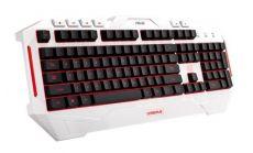 Геймърска клавиатура Asus Cerberus Arctic, водоустойчива
