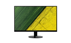 NEW! Monitor Acer SA270bid, (IPS), 27'' (69cm), Format: 16:9, Resolution: Full HD (1920x1080@60Hz), Non glare IPS, ZeroFrame, Response time: 4 ms (G to G), Contrast: 100M:1, Brightness: 250 cd/m2, Viewing Angle: 178°/178°, VGA, HDMI, DVI, ACM Acer Ad
