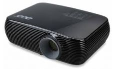 Projector Acer P1186, DLP® 3D Ready, Resolution: SVGA (800x600), Format:4:3, Contrast: 20 000:1, Brightness: 3400 lumens, Input: HDMI®, 2xD-sub, RCA, S-video, 2xAudio In, Output: D-sub, Audio Out, DC Out (5V/1A,USB Type A) x 1; Control interface: USB