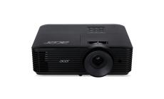 Projector Acer X128H DLP® 3D Ready, HDMI 3D, Resolution: XGA (1024x768), Format: 4:3, Contrast: 20 000:1, Brightness: 3 600 lumens, Input: HDMI®, Analog VGA (D-sub), 3W Audio, RCA, Acer ColorBoost II+, Acer ColorSafe II, Acer EcoProjection, Acer Blue
