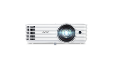 Projector Acer S1386WH, DLP® 3D Ready, Short-Throw, Resol.: WXGA(1280x800), Format: 16:10(Native)/ 4:3, Contrast: 20 000:1, Brightness: 3600 lumens, ExtremeEco lamp life 10 000 hours, Input: 1x HDMI, 1xComposite Video, 2xVGA, RS232 (D-sub)x1/short th