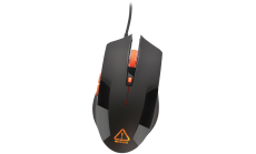 CANYON CND-SGM2 Optical gaming mouse, adjustable DPI setting 800/1200/1600/2400, LED backlight, Black
