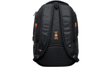 "Backpack for 15.6"" laptop, black (Material: 1680D Polyester)"
