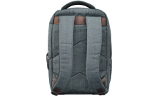 "Fashion backpack for 15.6"" laptop, dark gray"
