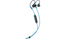 Canyon Bluetooth sport earphones with microphone, 0.3m cable, blue