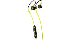 Canyon Bluetooth sport earphones with microphone, 0.3m cable, lime