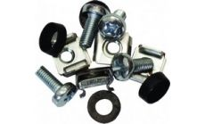 mounting kit ( one floating nut, one washer, and one screw)