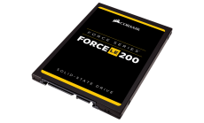 "SSD Corsair Force Series LE200 2.5"" 240GB SATA III TLC 7mm, latest NAND, Up to 560MB/s Sequential Read, Up to 530MB/s Sequential Write; Up to 77K IOPS Random Read, Up to 40K IOPS Random Write."