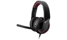 Слушалки с микрофон Corsair Raptor HS30-Y Analog Gaming Headset with 4-Pole 3.5mm Mini Jack + Audio/Mic Splitter Y-Cable, EU Version