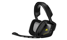 Слушалки с микрофон Corsair Gaming™ VOID Wireless, Dolby 7.1 Wireless RGB Gaming Headset Black, 2.4GHz Wireless, 16.8 million colors RGB Lighting, CUE Control (EU Version)