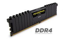 Памет Corsair DDR4, 3000MHz 16GB (2 x 8GB) 288 DIMM, Unbuffered, 15-17-17-35, Vengeance LPX Black Heat spreader, 1.35V, XMP 2.0, Supports 6th Intel® Core™ i5/i7