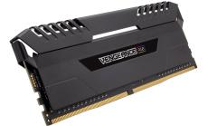 Памет Corsair DDR4, 3000MHz 16GB (2 x 8GB) 288 DIMM, Unbuffered, 15-17-17-35, Vengeance Black Heat spreader, Custom Performance PCB, RGB LED, 1.35V, XMP 2.0