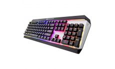COUGAR ATTACK X3 RGB US layout, Blue, Cherry MX RGB Mechanical Gaming Keyboard,N-key rollover (USB mode support),Full key backlight (16.8 million colors),Game type-FPS/MMORPG/MOBA/RTS,On-board memory,Aluminum/Plastic,Software COUGAR UIX System