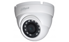 """Dahua HD-CVI camera 4.1MP Eyeball Water-proof, 1/3"""" CMOS, 2688?1520 Effective Pixels, 25fps@4MP, Focal Length 3.6mm, View angle 84.8°, IR distance up to 30m, 0.03Lux/F2.0, 0Lux IR on, IP67 outdoor installation, 12V DC, max 3.2W."""