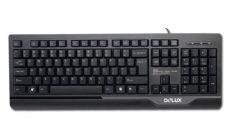 DELUX DLK-6000 PS/2, Черен, С опаковка, 1-pk, Български