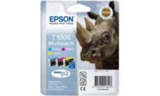 T100 Multipack (C,M,Y) Ink Cartridge - Stylus Office B40W/BX600FW; Epson Stylus SX600FW