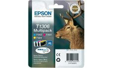 Ink Cartridge EPSON Multipack 3-colours T1306 DURABrite Ultra Ink