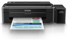 Inkjet Printer L310, 4 Ink Cartridges, YCMK, Print, Manual, 5,760x1,440dpi, 69Secondsper 10 x 15 cm photo (Epson Premium Glossy Photo Paper), 33Pages/minMonochrome (plain paper), 15Pages/minColor (plain paper), 100SheetsStandard, 100Sheet