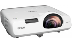 Multimedia Projector  EB-520, Projectors, Short distance/Education,XGA, 1024 x 768, 4:3, 2,700 lumen-1,600 lumen (economy),16,000 : 1, S-Video in, Ethernet interface (100 Base-TX / 10 Base-T), Composite in, Microphone input, USB 2.0 Type B, VGA out,