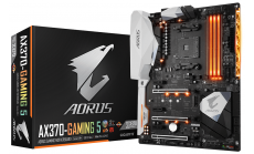 Дънна платка GIGABYTE AX370 Gaming 5, Socket AM4, ATX, DDR4, rev 1.0