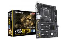 Дънна платка GIGABYTE B250 Fintech Mining, Socket 1151, ATX, DDR4