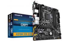 Дънна платка GIGABYTE H370M-D3H GSM, Socket 1151 (300 Series)