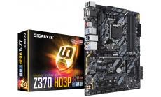 Дънна платка GIGABYTE Z370 HD3P, Socket 1151 (300 Series), 4xDDR4, RGB Fusion