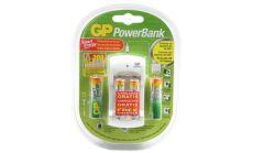 Акум.батерии 4 бр. AA R6 NiMH ECO  + подарък зарядно у-во PB310  GP