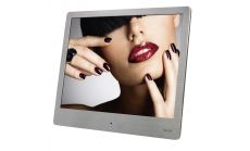 "Цифрова фото рамка HAMA 8SLBS, 8"", slim steel, 1024 x 768, USB 2.0, Сребрист"