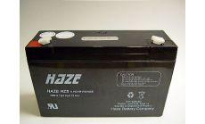 Haze Оловна Батерия (HZS6-12) 6V / 12 Ah - 151 / 50 / 95mm  AGM