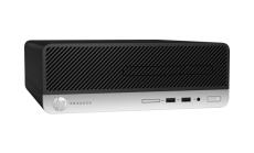 HP ProDesk 400G4  SFF Intel® Core™ i5-7500 with Intel® HD Graphics 630 (3.4 GHz base frequency, up to 3.8 GHz with Intel® Turbo Boost Technology, 6 MB cache, 4 cores)  4 GB DDR4-2400 SDRAM (1 x 4 GB) 500 GB 7200 rpm SATA DVD/RW Wondows 10 Pro,1 year